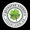 лого типографии Кловер